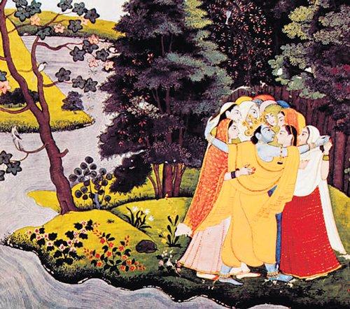 Vignettes of Mathura's divine art form