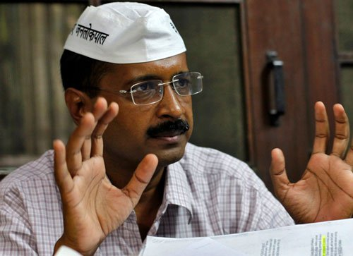 Kejriwal irked with media houses