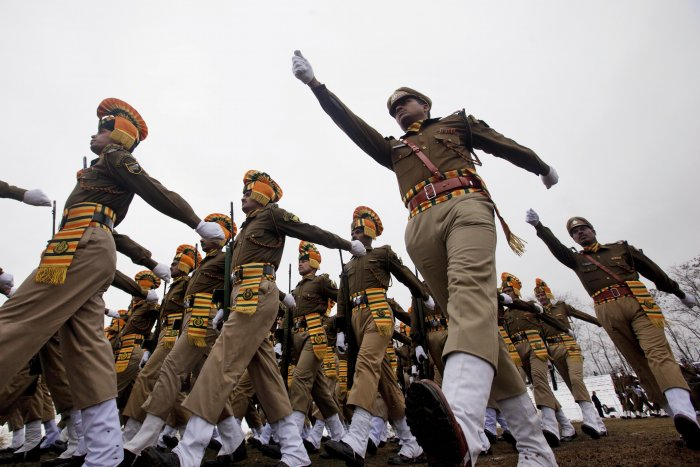 India's military might showcased on Republic Day