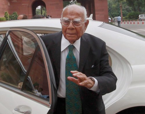 Vote for those committed to bring back black money:Jethmalani
