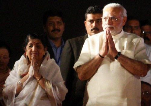 Modi praises Lata Mangeshkar, says  'Ae mere watan ke logon' cult song