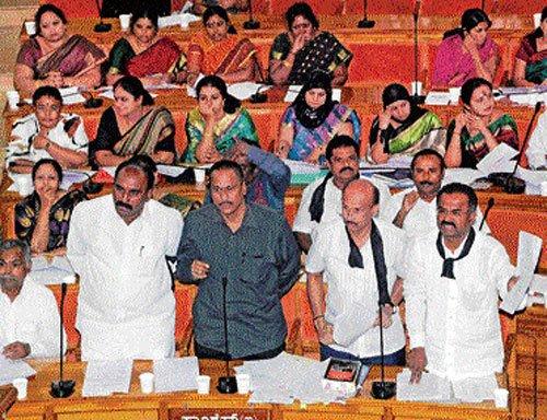 BJP, Cong spar over Palike finances