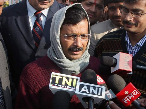Threat of physical force made Kejriwal end protest