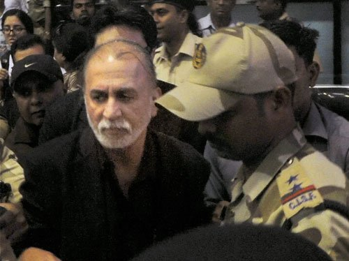 Police officer files case of intimidation case against Tejpal