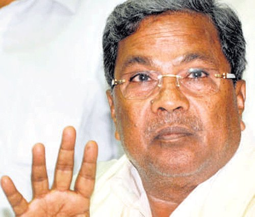 Siddu cautions Cong MLAs against groupism