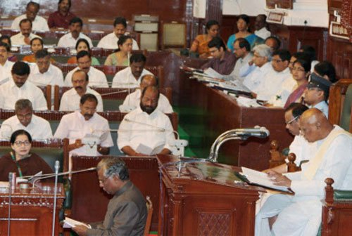 Opposition party members evicted from Assembly