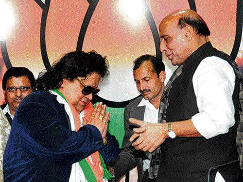 Bappi Lahiri to contest in Lok Sabha election