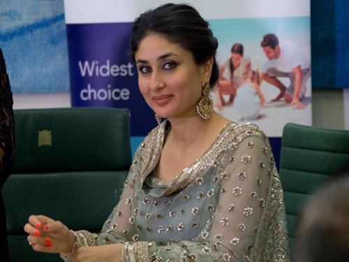 Kareena discusses social issues with former French First Lady