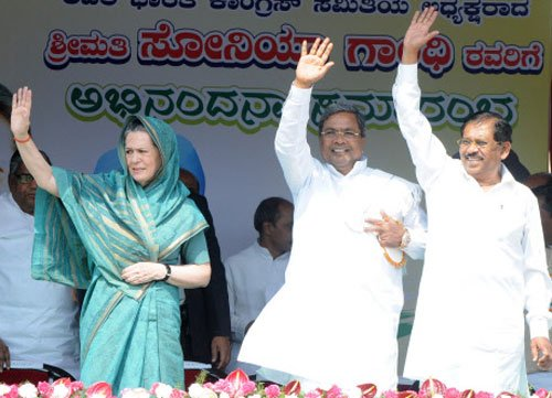 Sonia assures North Karnataka of special financial package