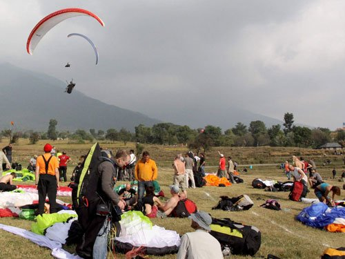 Sikkim turning hot spot for paragliding, adventure tourism