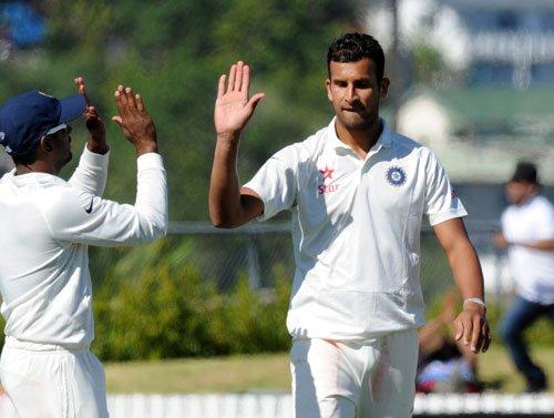 Indian bowlers find rhythm