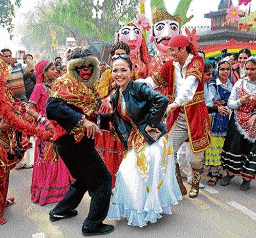 Get drenched in India's culture