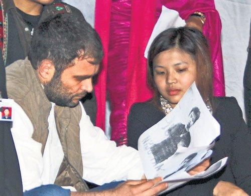 Rahul backs North-East students