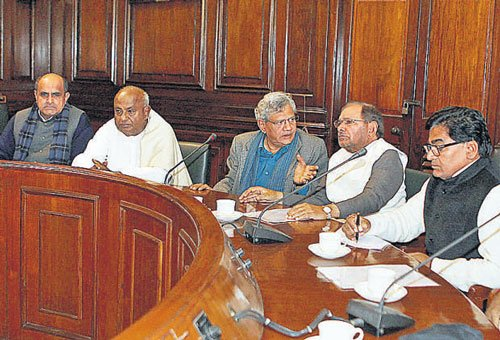 Third front comes into being in House
