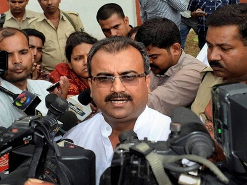 BJP suspends two dissident MLAs