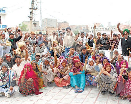 Haryana village adopts  Jai-Ho support model