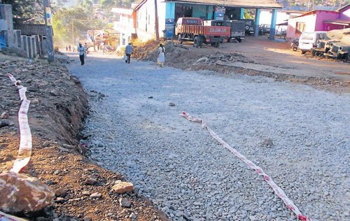 Road works move at a snail's pace, people suffer