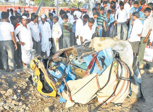 8 killed in Jewargi accident