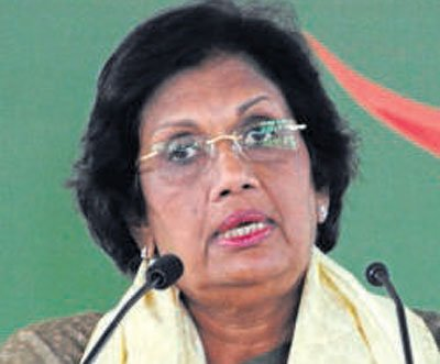 Lankan ex-prez recalls her fight for peace