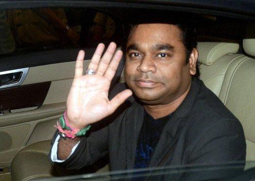 Rahman's son floors father with love