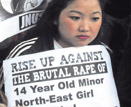 Manipur teen raped in Delhi, protests erupt