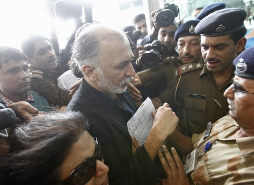 Tejpal's judicial remand extended by 14 days