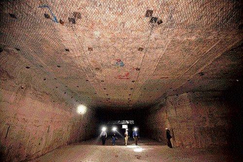 Nuclear waste solution seen in desert salt beds