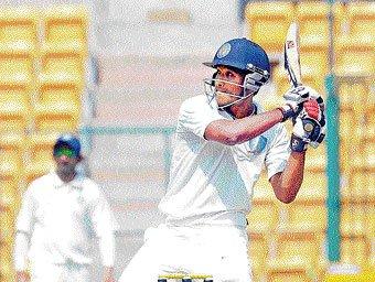 Gautam ton puts Karnataka   in total control
