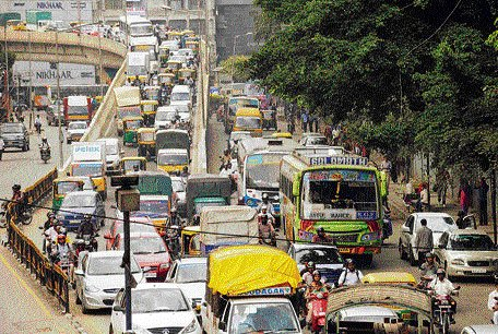 Gridlock on flyovers
