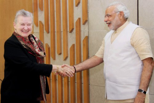"BJP Modi-Powell meeting as US' 'internal corrective"""