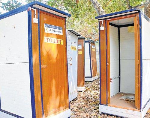 MCC dumps free mobile toilets