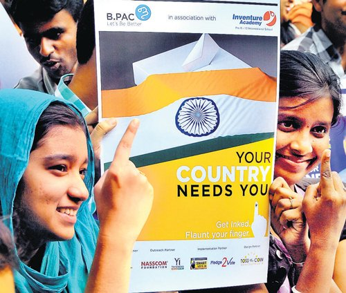 Campaign to boost voter registration among youth