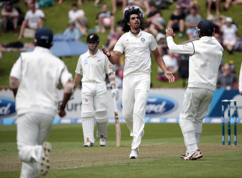 New Zealand bowled out for 192 in first innings