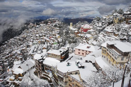 Head to Shimla, Manali for white Valentine's Day