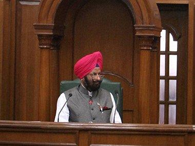 Jan Lokpal bill not tabled, says speaker