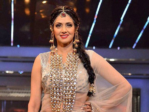Sridevi approached for comedy, drama film