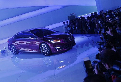 Luxury cars offer silver lining to country's auto sector gloom