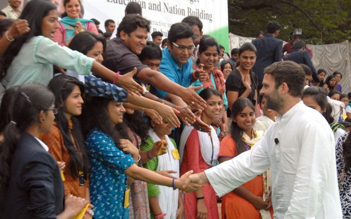 Students find Rahul wanting