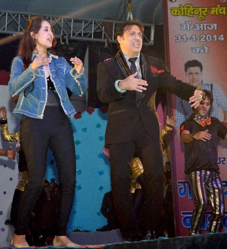 Govinda grateful to younger actors who copy his style