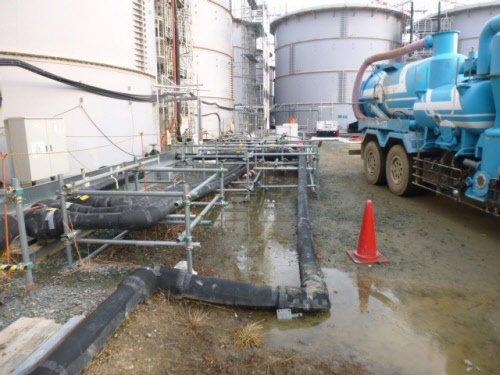 100-tonne radioactive water leak at Fukushima: TEPCO