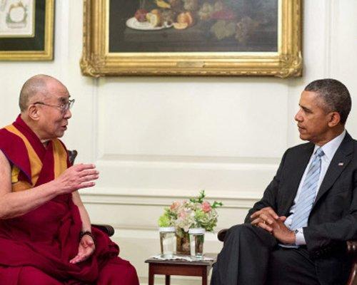 Obama played dumb with Dalai Lama: Chinese daily