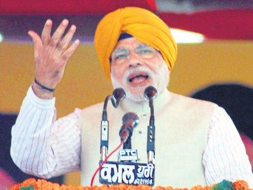 Modi raps Cong over one-rank-one-pension move