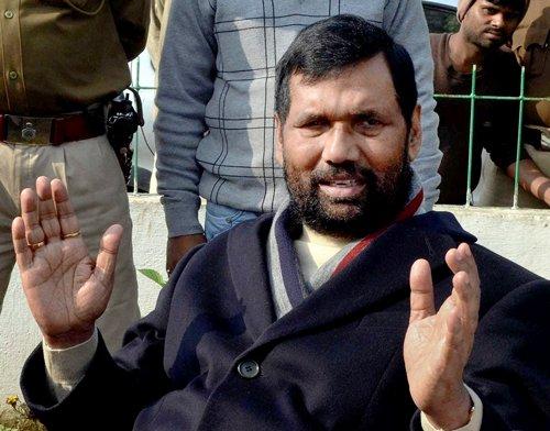 CBI may question Ram Vilas Paswan in Bokaro recruitment case