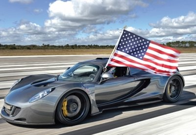 World's fastest car hits 435km/h in US