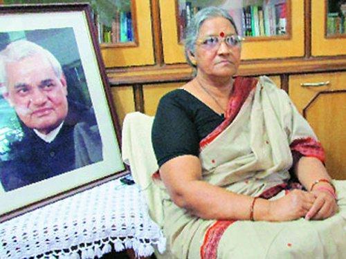 Vajpayee's niece Karuna Shukla joins Cong, slams Modi