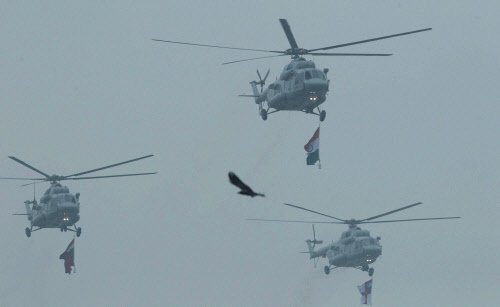 IAF choppers to provide air support during Lok Sabha polls