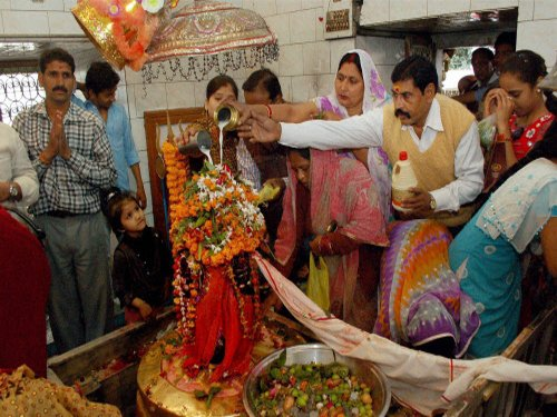 Mahashivratri celebrated with religious fervour