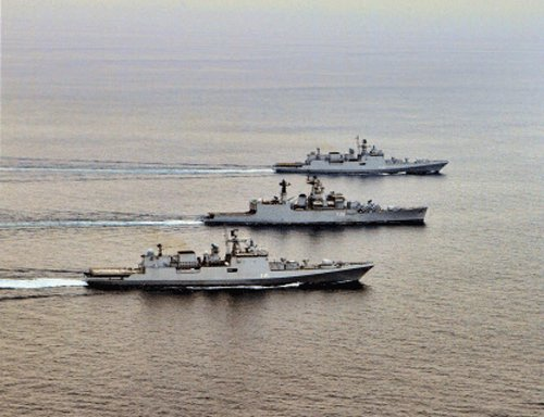 India-China navies to hold joint training: Chinese military