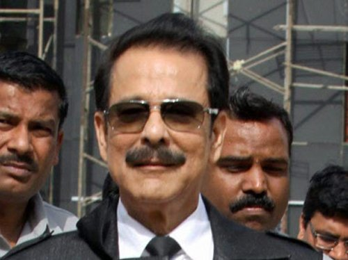 Subrata Roy apologises to SC, seeks warrant to be put on hold