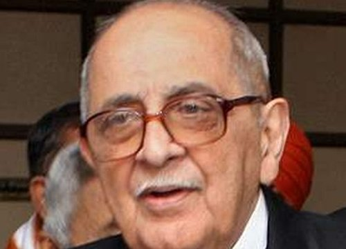 Nariman not to be part  of Lokpal search panel
